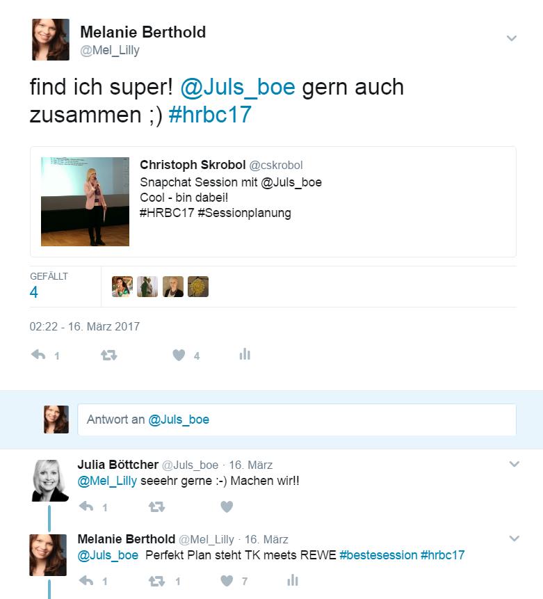 Tweets HRBC