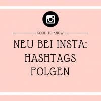 Hashtag abonnieren bei Instagram