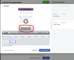 Automatische Untertitel Facebook