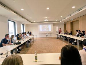 Ein Vortrag auf dem HR Camp der IHK Koblenz