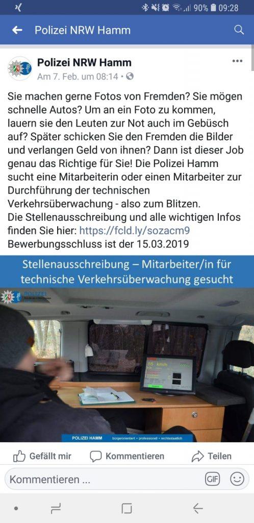 Social Media im Personalmarketing bei der Polizei NRW