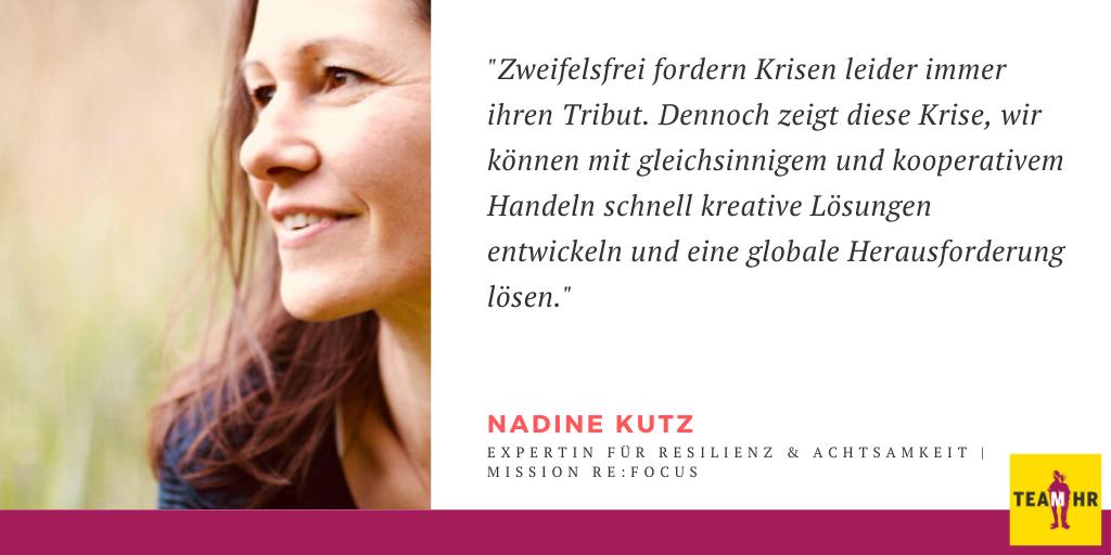 Nadine Kutz, Expertin für Resilienz & Achtsamkeit | mission re:focus