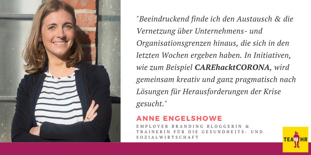 Anne Engelshowe, Employer Branding Bloggerin & Trainerin für die Gesundheits- und Sozialwirtschaft