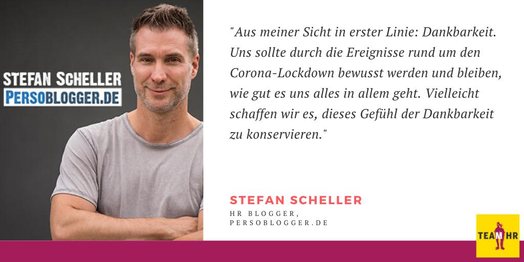 Stefan Scheller, HR Blogger & Experte Persoblogger.de