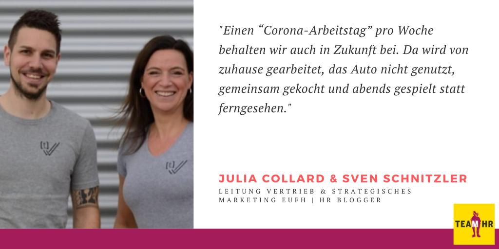 Julia Collard & Sven Schnitzler, Leitung Vertrieb & strategisches Marketing EUFH | HR Blogger